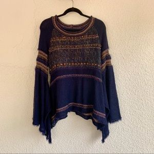 Free people craft time bell sleeve sweater